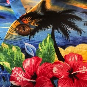 c7d75a2e2903 howie Shirts | Vintage Hawaiian Shirt Island Sunset Xl | Poshmark